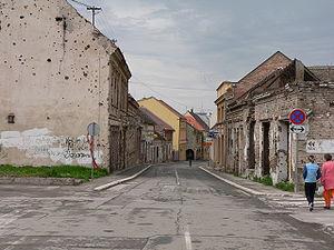 Main street, Vukovar