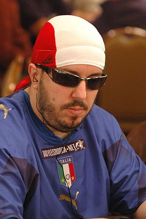 Max Pescatori at the 2006 World Series of Poker.