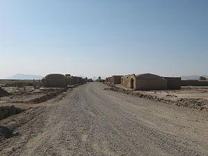 Route 515 in Bakwa, Afghanistan