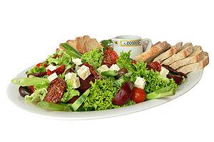 A salad platter.