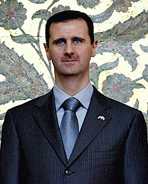 English: President Bashar al-Assad of Syria . ...