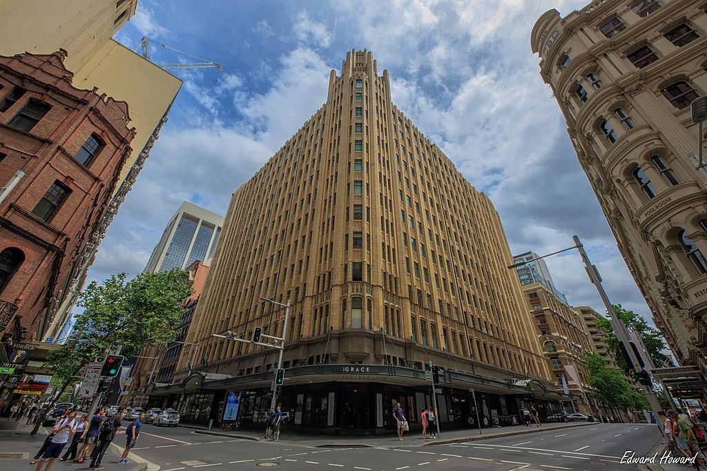 File The Grace Hotel 1930 Sydney Jpg Wikimedia Commons