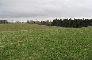 English: Undulating grassland A change from th...