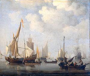 Windstilte - Windlessness (Willem van de Velde II)