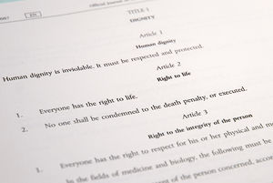 Article 2 of the Charter of Fundamental Rights...
