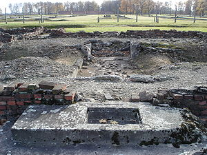 Deutsch: Krematorium IV in Auschwitz Birkenau ...