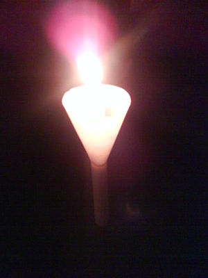 Candlelight of hope