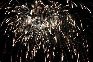 Fireworks at Disneyworld.