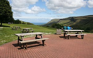 Glenariff Forest Park These picnic tables are ...