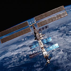International Space Station on 20 August 2001