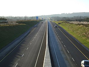 Various M8 motorway (Ireland) photos