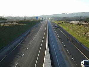 Various M8 motorway (Ireland) photos