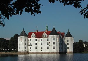 English: Glücksburg Castle, Glücksburg, Schles...