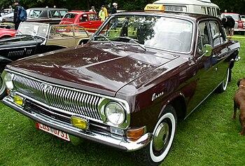 English: Wolga GAZ 24 Taxi Deutsch: Wolga GAZ ...