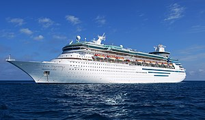MS Majesty of the Seas, one of Royal Caribbean...