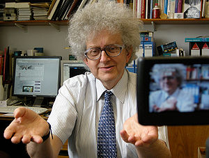 Chemist Professor Martyn Poliakoff, from the U...