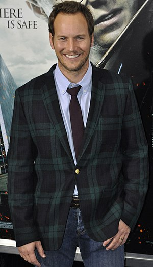 English: Patrick Wilson at the film premiere o...