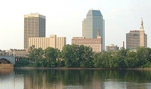 Springfield, Ma, USA skyline
