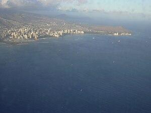 English: Location: Oahu, Diamond Head