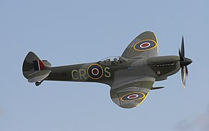Supermarine Spitfire XVI at Duxford, September...