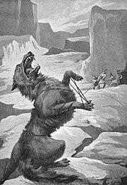 O lobo Fenrir.