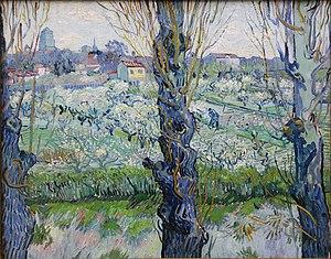Vincent van Gogh: Blick auf Arles. April 1889 ...
