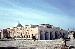 La mezquita de Al-'Aqsà es la tercera mezquita más sagrada del Islam.