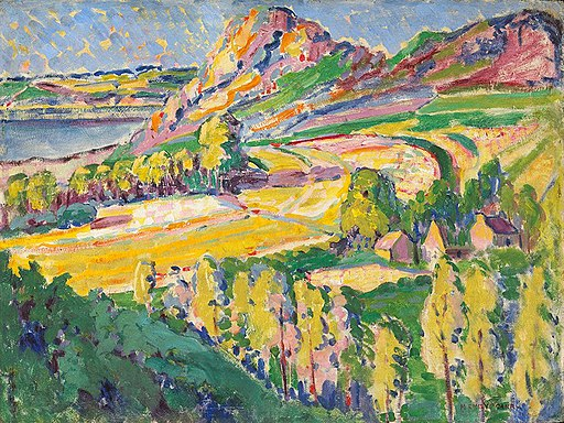 Autumn in France Emily Carr 1911