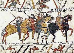 The Bayeux Tapestry, chronicling the English/N...