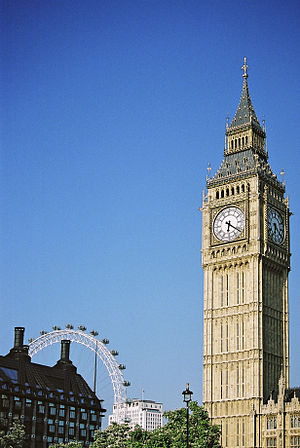 Big Ben in London, England, United Kingdom