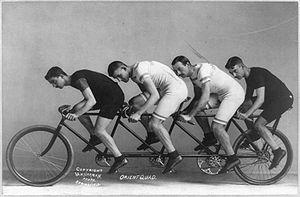 Tandem, Bike for four