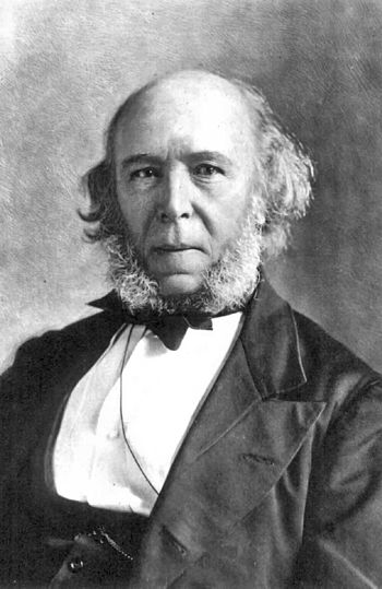 Herbert Spencer (27 April 1820 - 8 December 19...