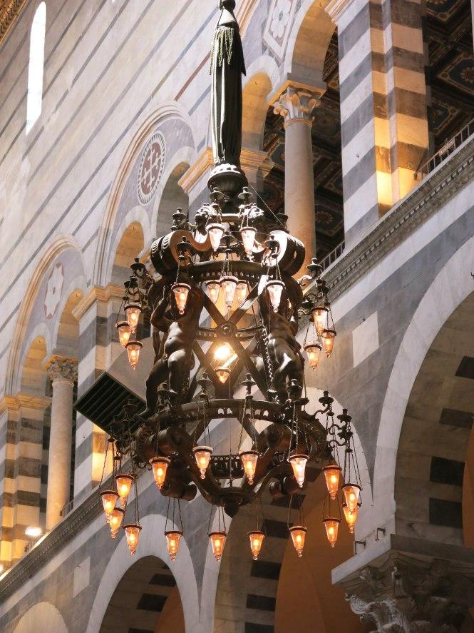 File Pisa Cathedral Galileo Lamp Jpg