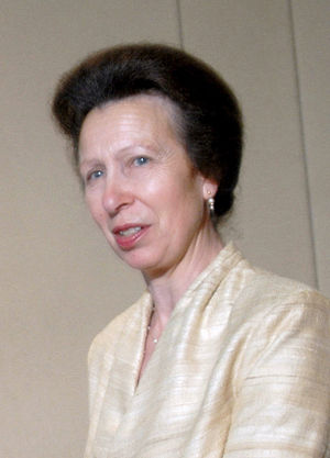 Princess Anne visited King George School, Sask...