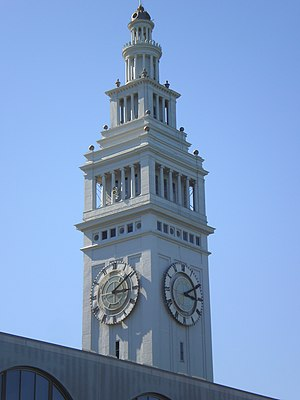 English: Ferry Building in San Francisco, Cali...