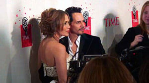 Time 100 2006 gala, Jennifer Lopez and Marc An...