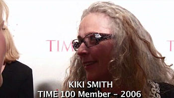 Time 100 2006 gala, Kiki Smith.