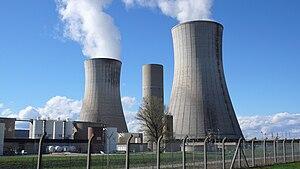 Italiano: Centrale nucleare di Tricastin