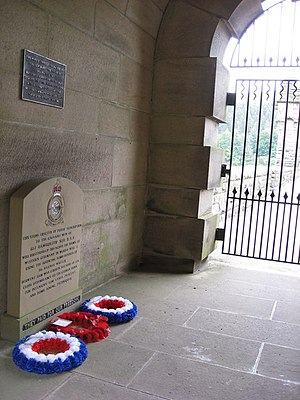 English: 617 Dambusters Squadron Memorial