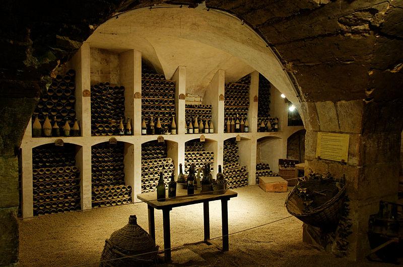 Château de Valençay Cave à vins
