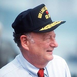 Edward I. Koch, mayor of New York City, sports...