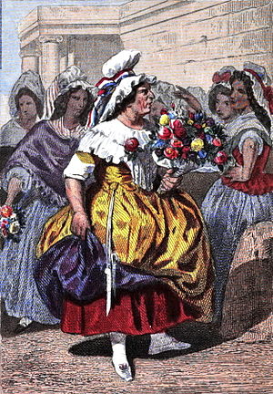 Français : Femmes de la halle sous la Révolution