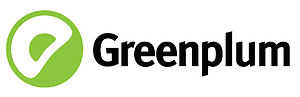 It's the logotype of Greenplum