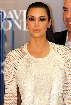 English: Kim Kardashian Get David Jones Tills ...