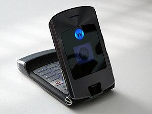 English: Motorola RAZR V3i mobile phone