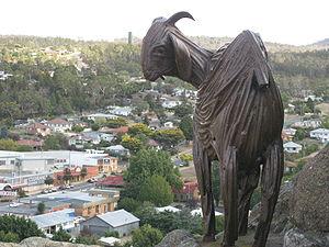 Nanny Goat Bronze Statue Nanny Goat Hill Cooma NSW