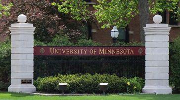 University of Minnesota entrance sign 1
