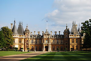 English: Waddesdon Manor, built between 1874 a...