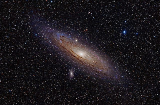 Andromeda Galaxy (with h-alpha)