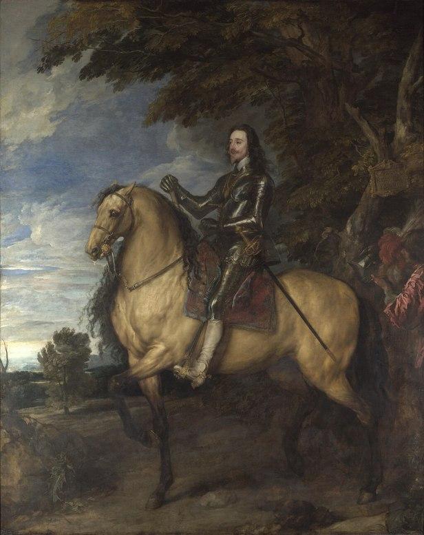 """Equestrian Portrait of Charles I"" byAnthony van Dyck"
